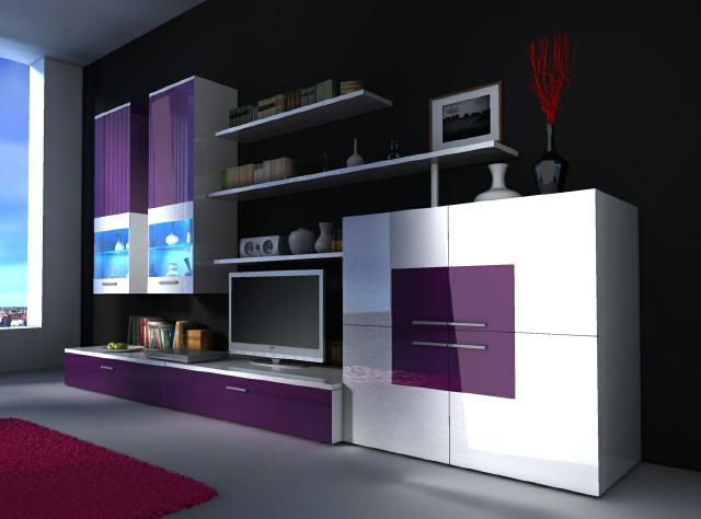 Moderne Wohnwände Und Wie Designer Wohnwand Delta Von Jv Möbel