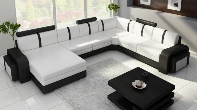 ledersofa leopold couch ecksofa sofagarnitur designer sofa. Black Bedroom Furniture Sets. Home Design Ideas