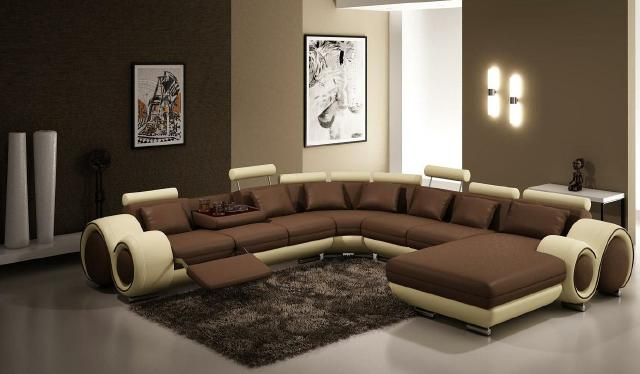 ledersofa xxl wohnlandschaft ledercouch big sofa. Black Bedroom Furniture Sets. Home Design Ideas