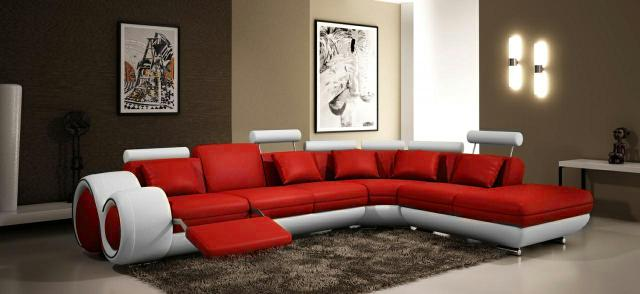 ledercouch lederecksofa garnitur sofa xxl wohnlandschaft ecksofa neu. Black Bedroom Furniture Sets. Home Design Ideas