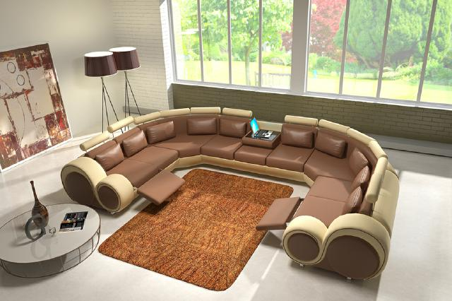 ledersofa polstersofa xxxl ledercouch garnitur sofa wohnlandschaft couch ecksofa ebay. Black Bedroom Furniture Sets. Home Design Ideas