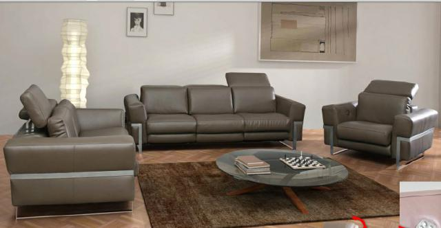 sofagarnitur ledersofa couch 3 2 1 automatische relaxfunktion sesssel leder neu ebay. Black Bedroom Furniture Sets. Home Design Ideas