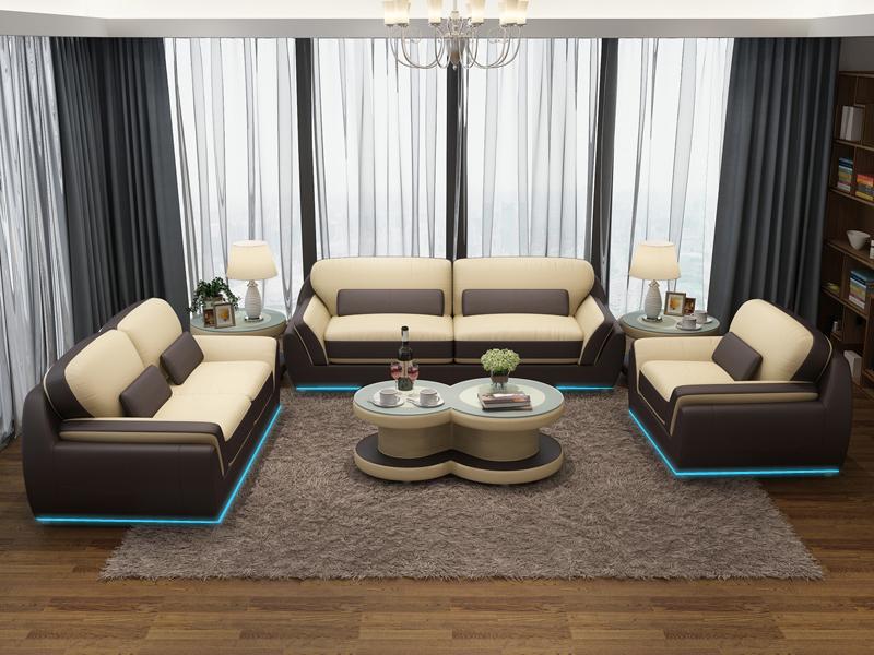 Ledersofa couch sofagarnitur neu 3 2 1 sitzer garnitur for Couchgarnitur leder italienisch