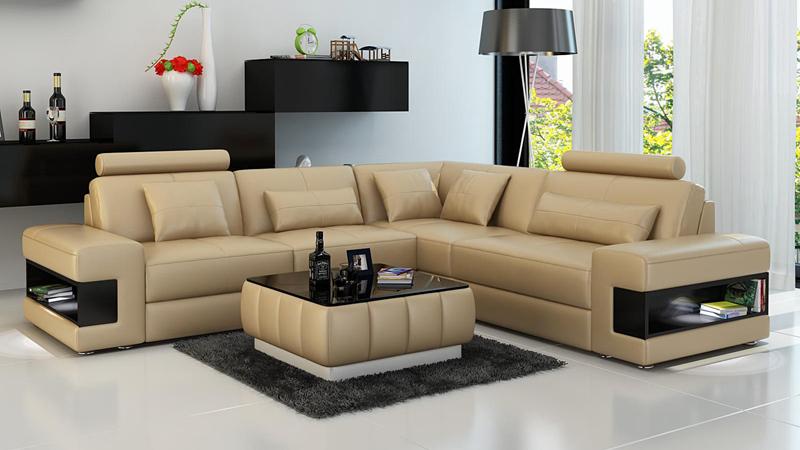 sofa couch wohnlandschaft xxl couch ledersofa mit ottomane. Black Bedroom Furniture Sets. Home Design Ideas