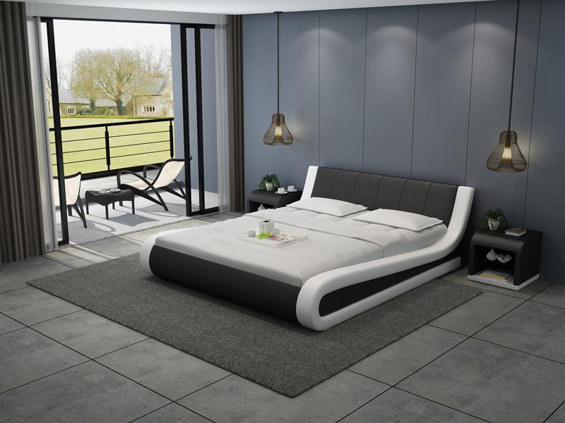 Wasserbett Hotel Doppel Bett Betten Komplett Lederbett Polsterbett ...