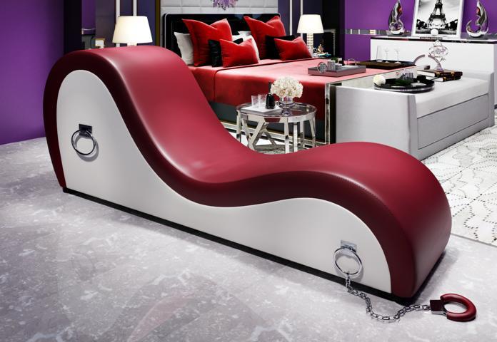 tantra luxus bondage fessel kamasutra sex chaise liege sessel xxl neu 186x77cm ebay. Black Bedroom Furniture Sets. Home Design Ideas