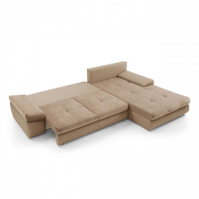 schlafsofa sofa polster ecksofa textl sitz garnitur funktions couch wohnzimmer ebay. Black Bedroom Furniture Sets. Home Design Ideas