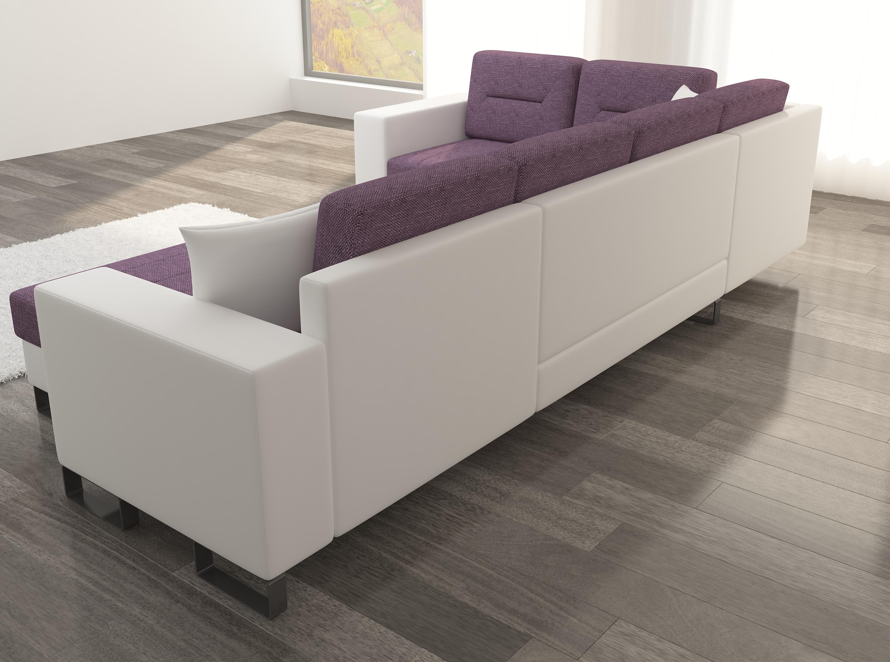Wohnlandschaft U Form Moderne Wohnzimmer Art Ecksofa Couch Eck