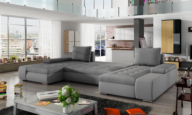 xxl big schlafsofa relax wohnzimmer ecksofa garnitur polster couch eckgarnitur ebay