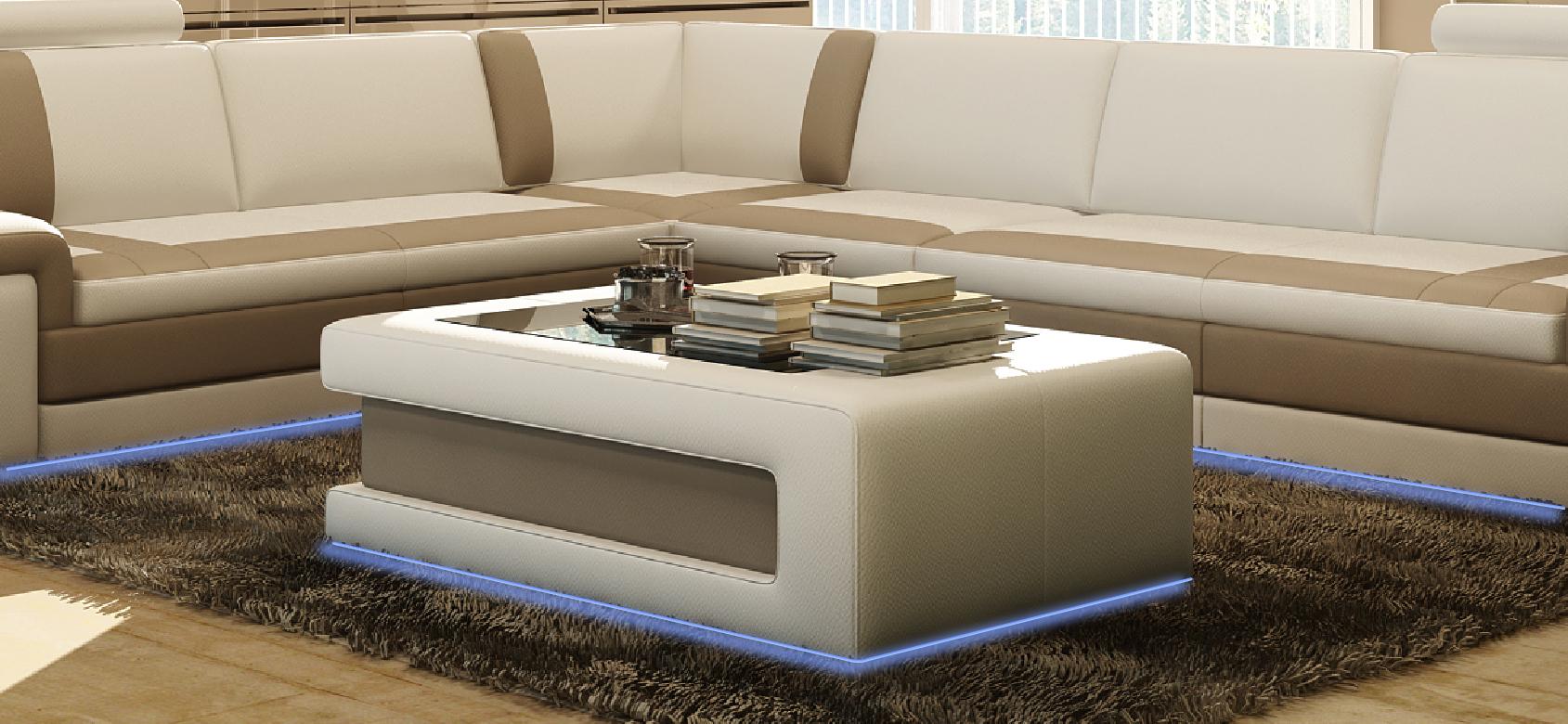 Design couchtisch polster wohnzimmer beistell tische for Designer tische wohnzimmer