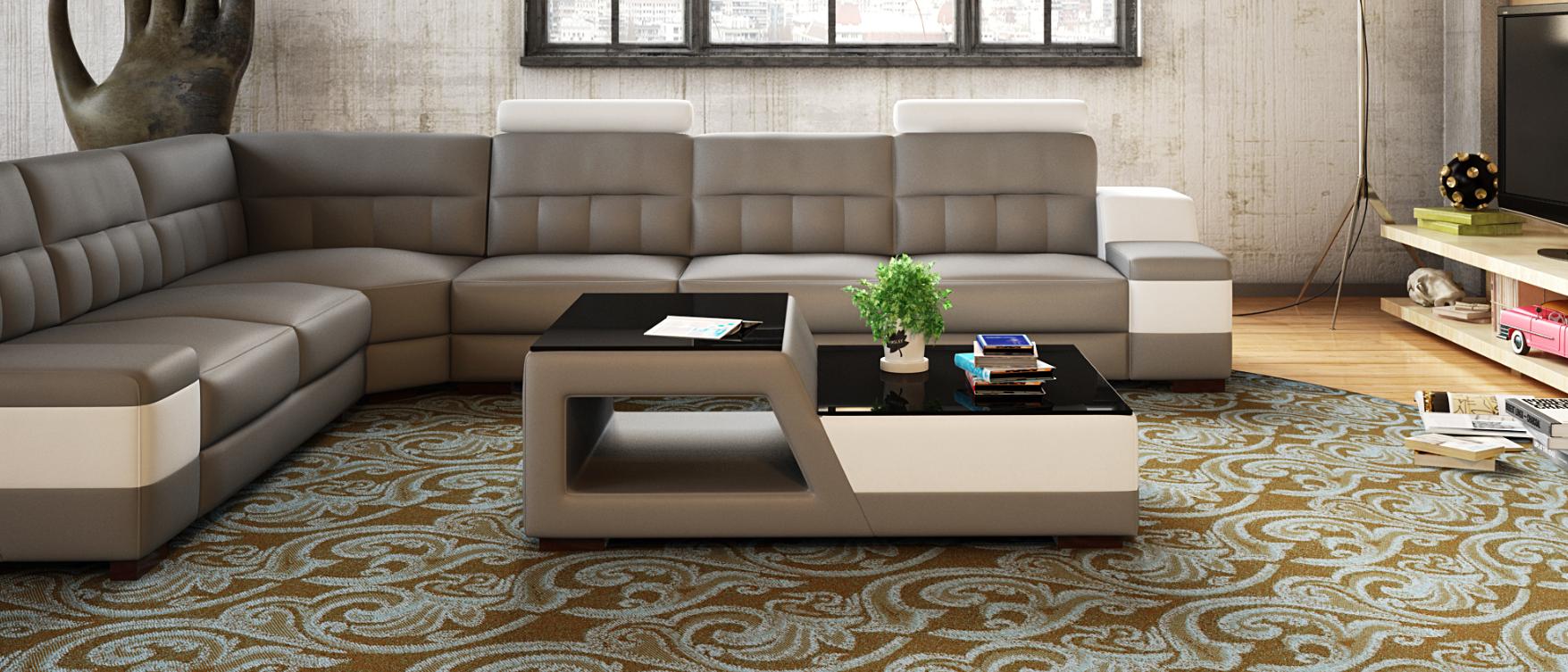 Moderner designer glastisch beistell sofa tische for Designer tische wohnzimmer