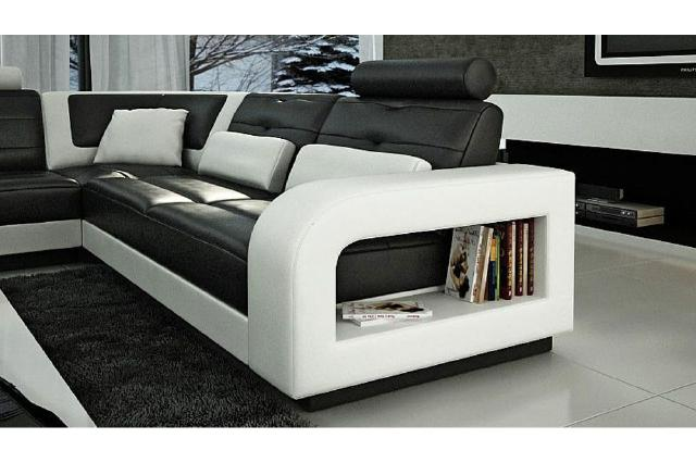 jvmoebel ledersofa wohnlandschaft xxl ledergarnitur ecksofa h2209 sofort lieferbar. Black Bedroom Furniture Sets. Home Design Ideas